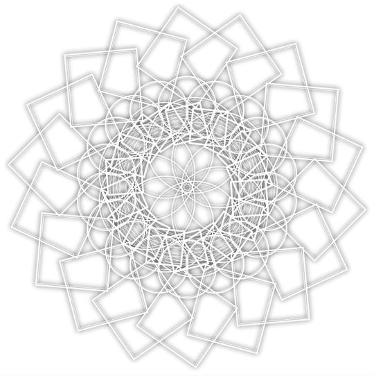 procedural geometry, creative coding, generative art